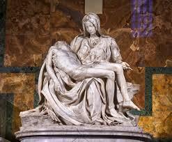 File:Michelangelo's Pietà, St Peter's Basilica (1498–99).jpg - Wikimedia  Commons